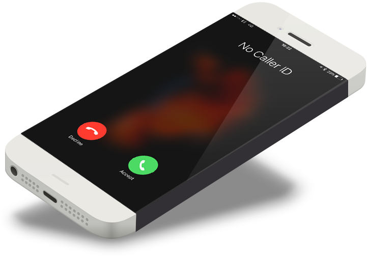 how to show no caller id number on iphone